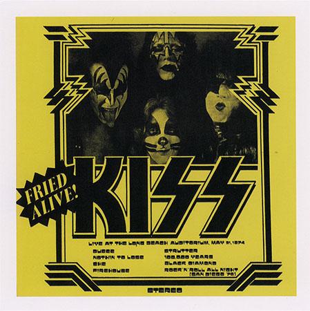 KISS - BoxSet: KISS Karton (The Godfather Records, G  R  BOX 07)